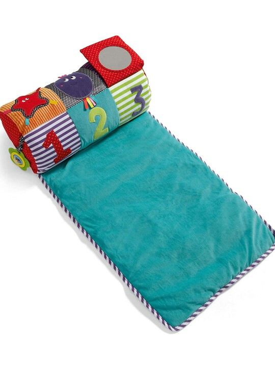 Babyplay - Tummy Time Activity Toy & Rug image number 3