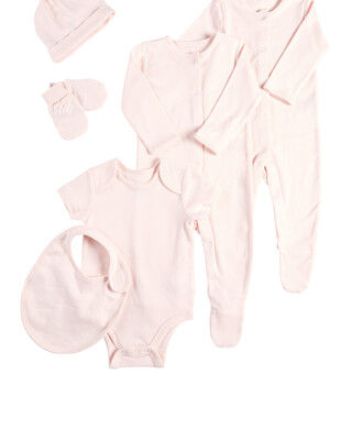 Pink 6 Piece Set