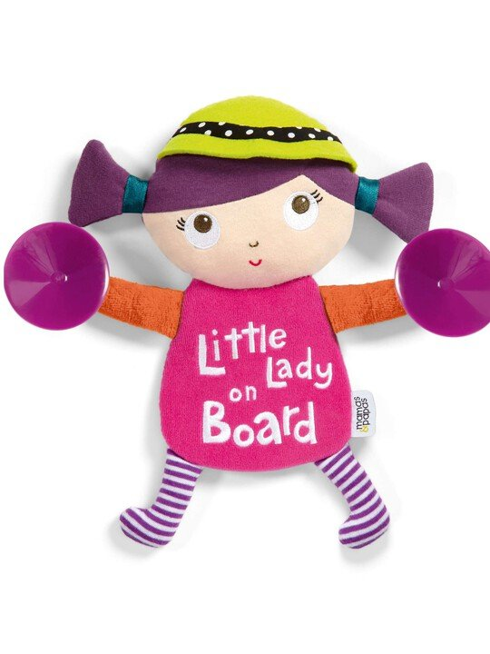 Babyplay - Little Lady On Board Sign image number 1