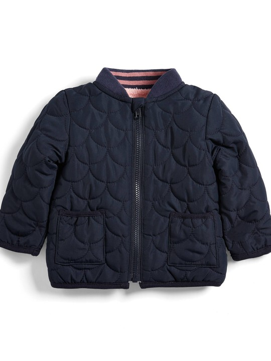 Quilted Bomber Jacket image number 1