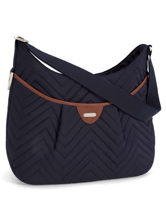 Ellis Shoulder Bag - Navy Quilt image number 1