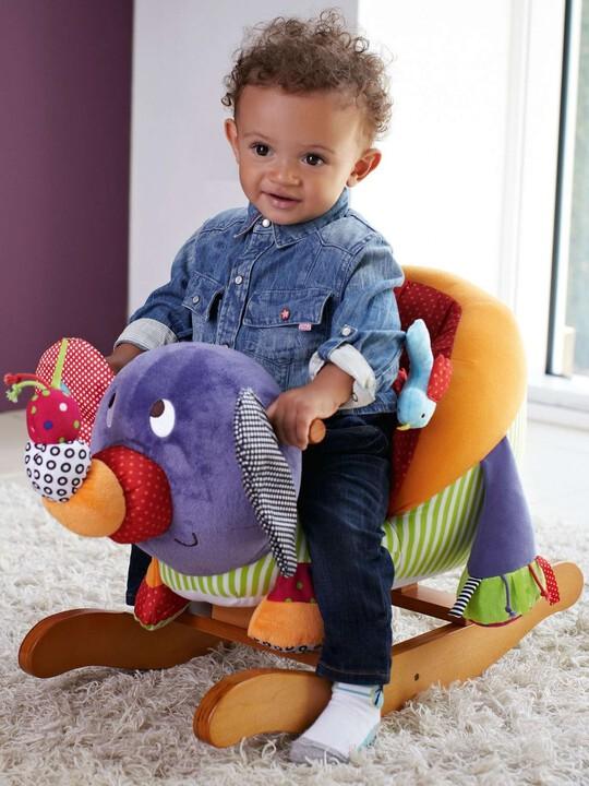 Rocking Animal - Babyplay Elephant image number 2