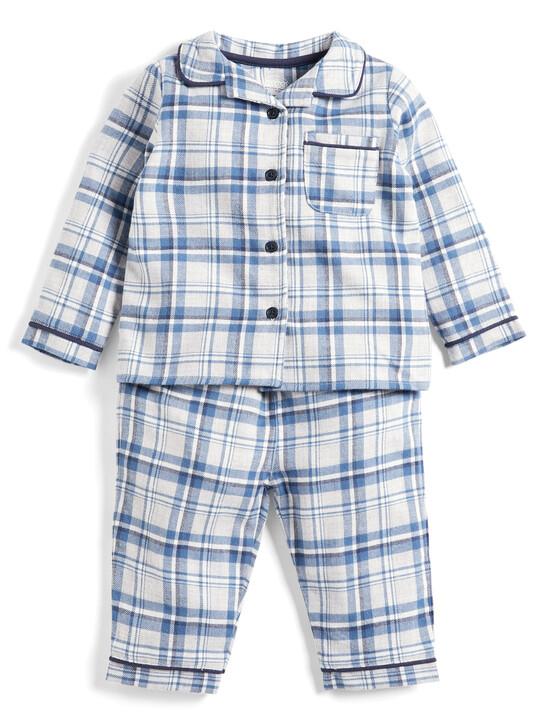 Blue Check Pyjamas image number 1