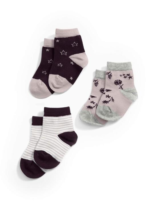 Star Socks (3 Pairs) image number 1