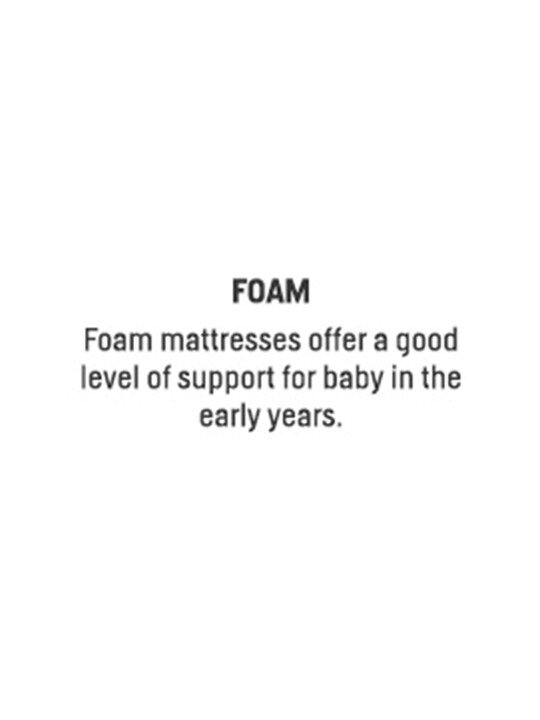 Essential Foam Small Cot Mattress image number 2