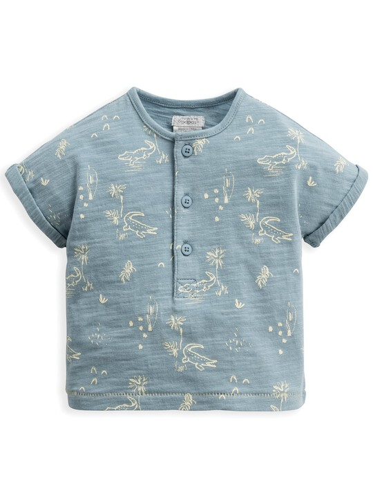 Crocodile Print T-Shirt image number 1