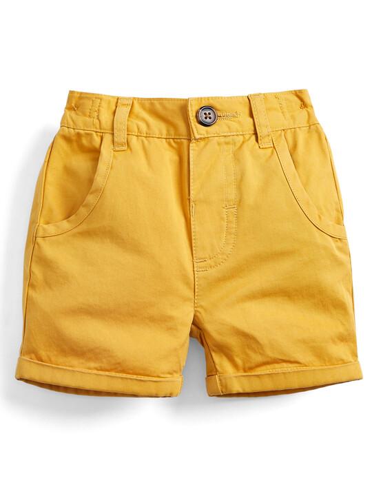 Chino Shorts - Mustard image number 1