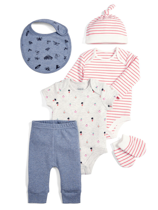 Butterfly Clothing Set - 6 Piece image number 1