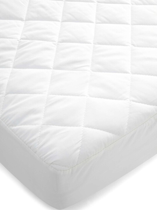 Quilted Waterproof Mattress Protector (Cotbed) image number 1