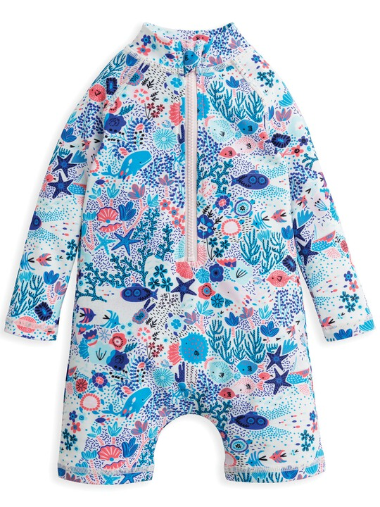 Under The Sea Printed Swimsuit image number 1