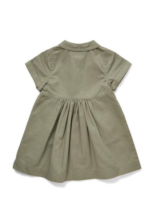 Twill Shirt Dress image number 2