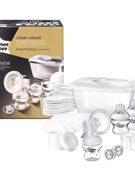 Tommee Tippee Closer to Nature Breast Feeding Kit image number 1
