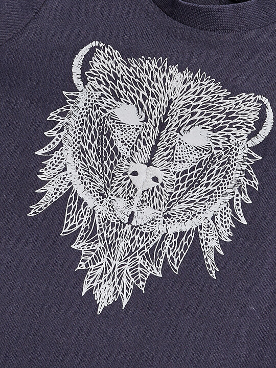 Bear Print T-Shirt image number 3