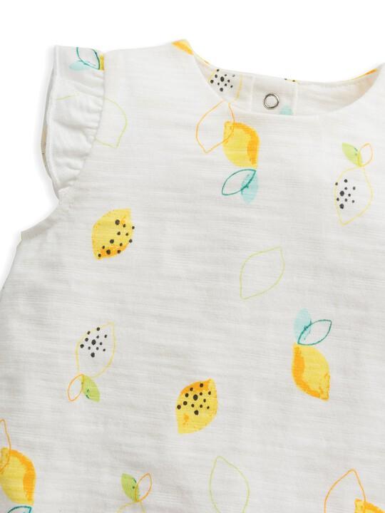 Lemon Frill Romper image number 3