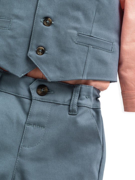 3 Piece Waistcoat, Shirt & Trousers image number 8