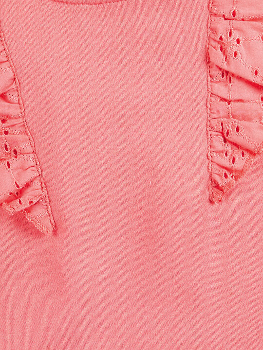 Coral Frill Bodysuit image number 3