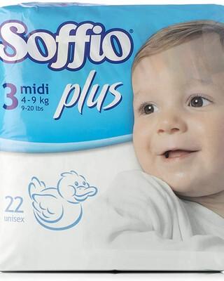 Soffio plus Soft Hug Parmon From 15Kg-30Kg,14 Diapers