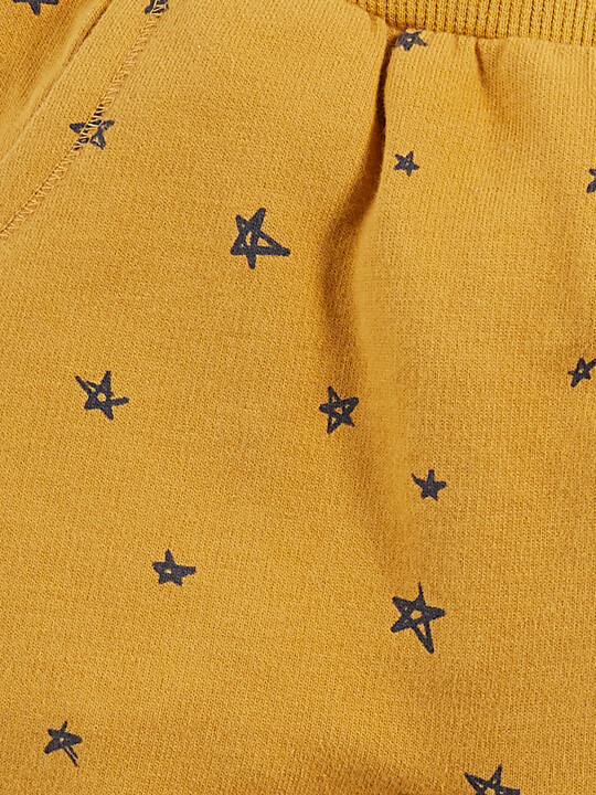Star Print Joggers image number 3