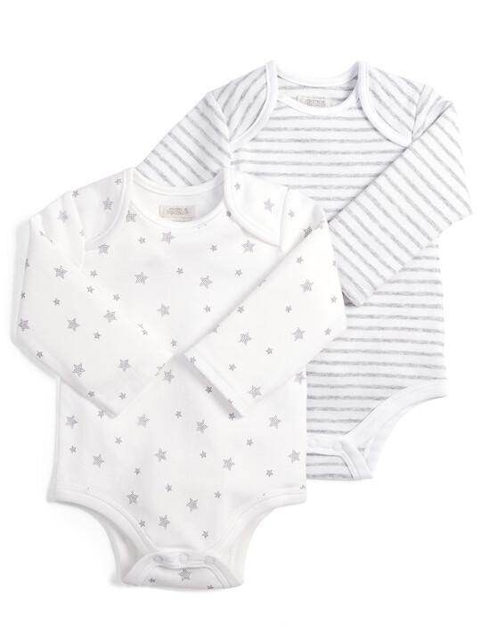 Long Sleeved Bodysuits (2 Pack) image number 1