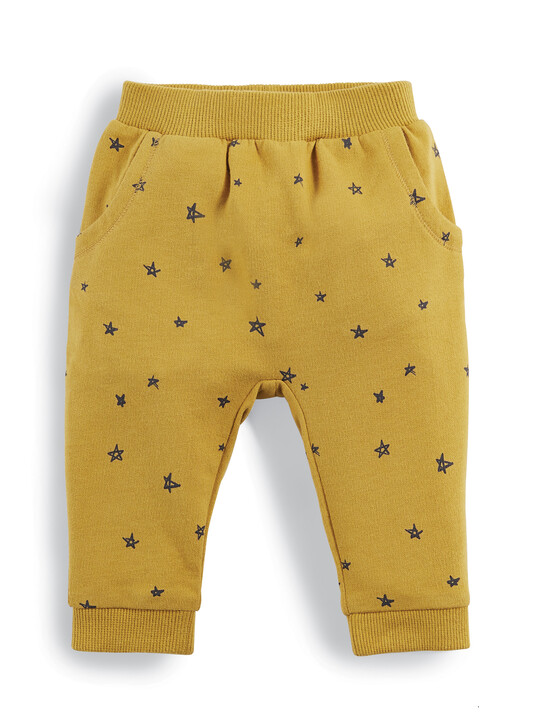 Star Print Joggers image number 1