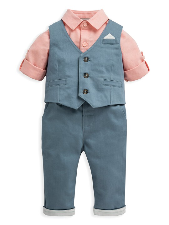 3 Piece Waistcoat, Shirt & Trousers image number 1