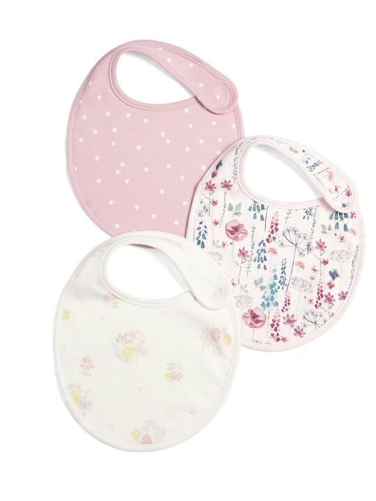 Pink Bibs (3 Pack) image number 1
