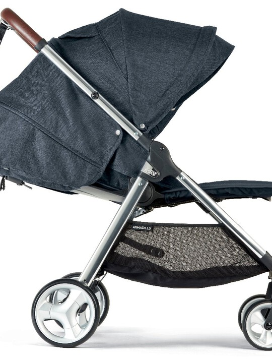 Armadillo Pushchair - Navy Flannel image number 2