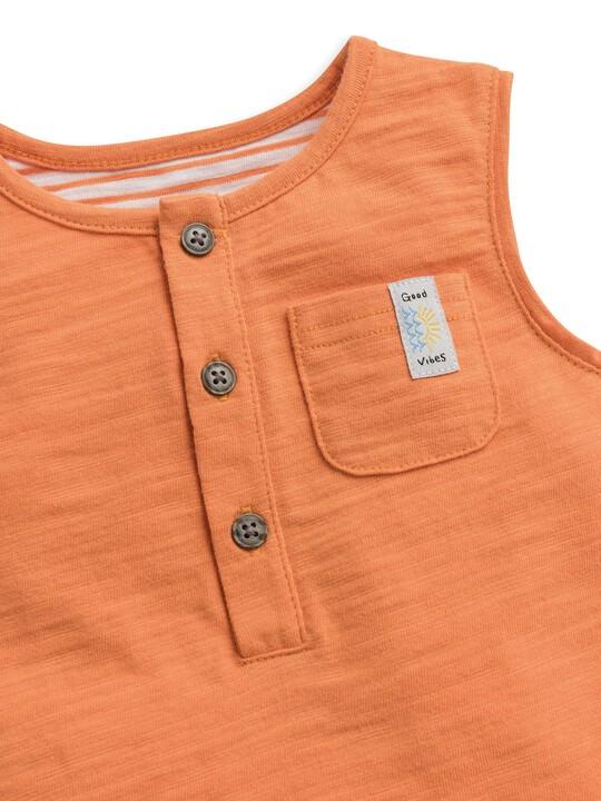 Striped Pocket Vest image number 2