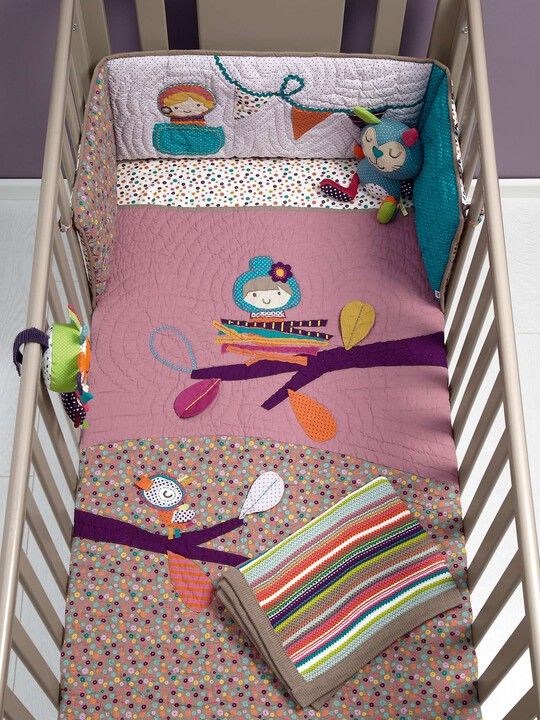 Timbuktales - Girls Cotbed Coverlet image number 4