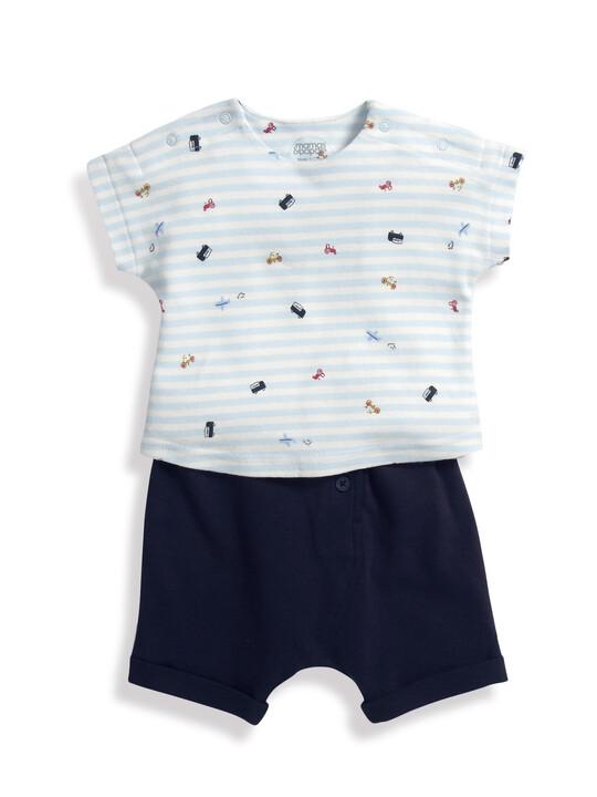 Car T-Shirt & Shorts Set image number 1