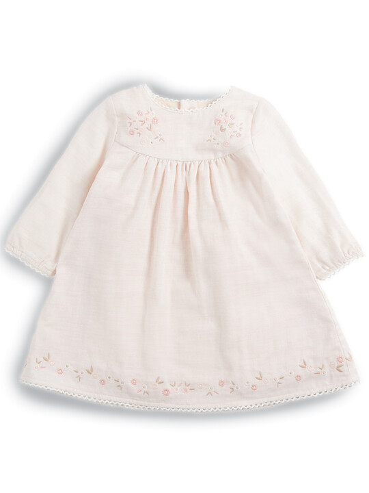 Embroidered Dress image number 1