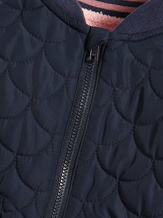 Quilted Bomber Jacket image number 3