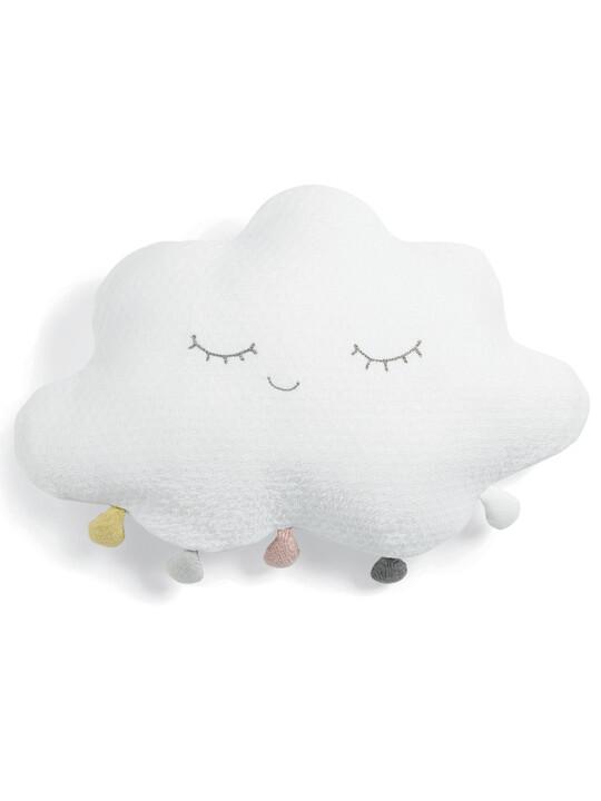 Cushion - White Pompom Cloud image number 1