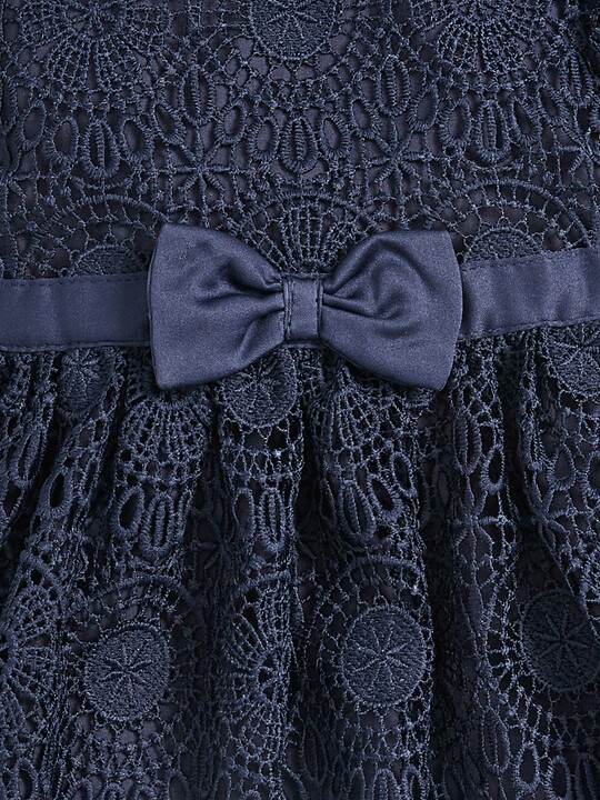 Lace Dress - Navy image number 3