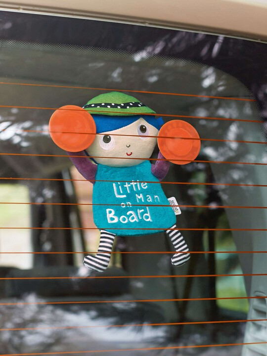 Babyplay - Little Man On Board Sign image number 2