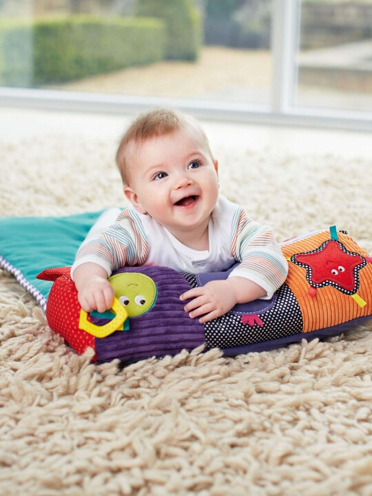 Babyplay - Tummy Time Activity Toy & Rug image number 2