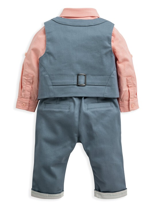 3 Piece Waistcoat, Shirt & Trousers image number 4
