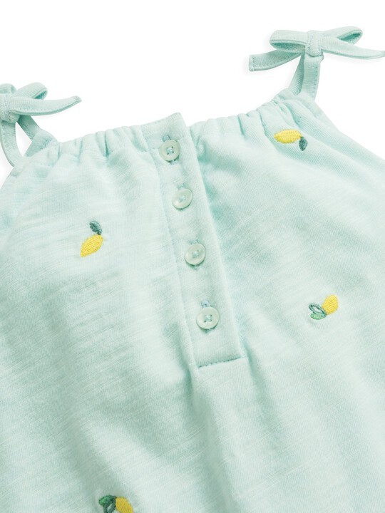 Embroidered Dungaree image number 3