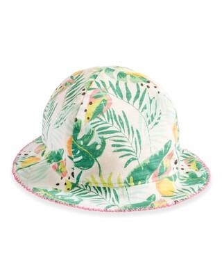 Tropical Print Reversible Hat
