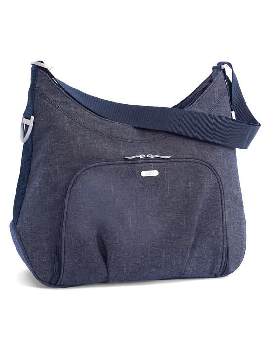 Ellis Shoulder Changing Bag - Denim image number 1