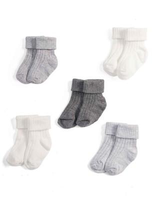 White Socks Gift Box (5 Pairs)