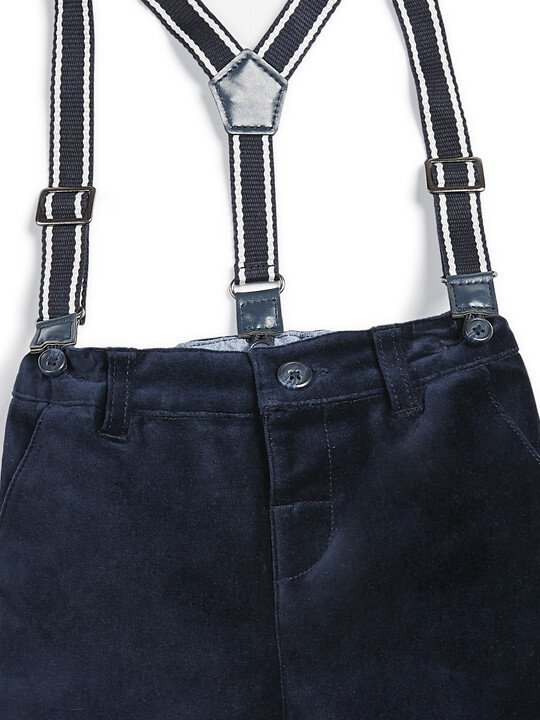 Moleskin Trousers - Navy image number 3