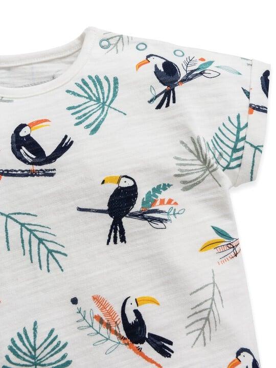 Toucan Print Romper image number 3