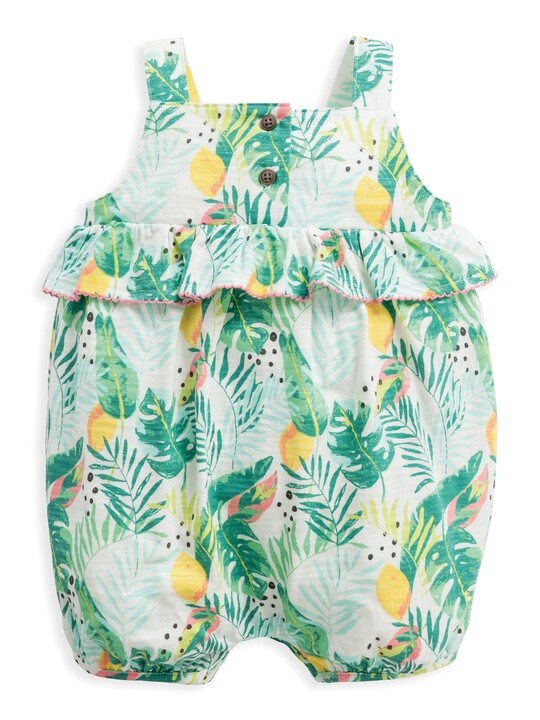 Tropical Shortie Romper image number 1