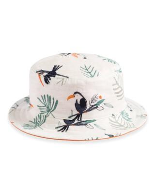 Toucan Print Reversible Hat