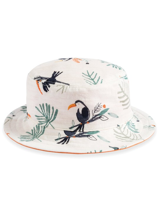 Toucan Print Reversible Hat image number 1
