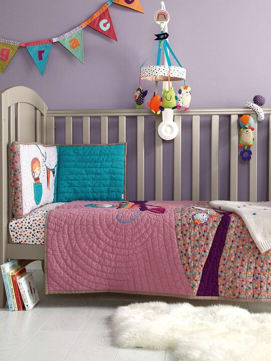 Timbuktales - Girls Cotbed Coverlet image number 1