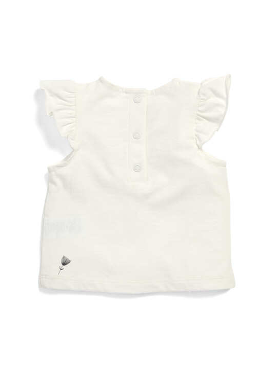 Fox Frill Sleeve T-Shirt image number 2