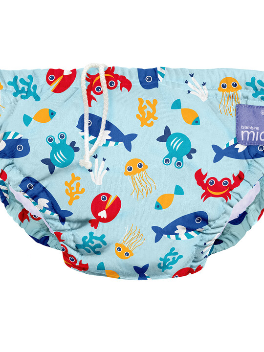 Bambino Mio Reusable Swim Nappy - Deep Sea Blue (2+ years) image number 5