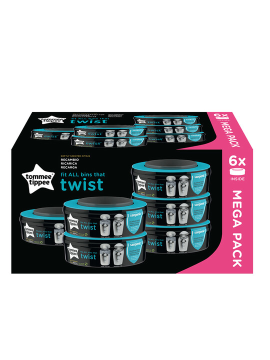 Tommee Tippee Sangenic Universal Cassette 6Pc image number 2